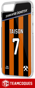 Coque foot SHAKHTAR DONETSK - flocage 100% personnalisable - iPhone smartphone - TEAMCOQUES