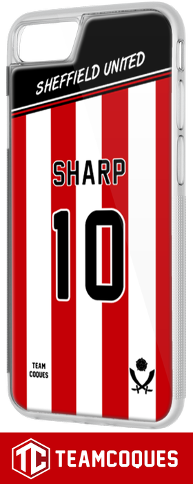 Coque foot SHEFFIELD UNITED - flocage 100% personnalisable - iPhone smartphone - TEAMCOQUES