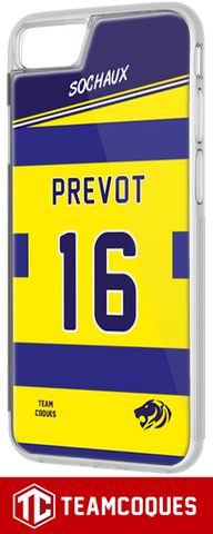 Coque foot SOCHAUX - flocage 100% personnalisable - iPhone smartphone - TEAMCOQUES