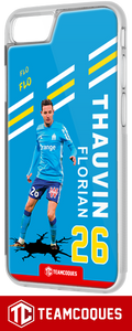 Coque foot FLORIAN THAUVIN OM MARSEILLE - flocage 100% personnalisable - iPhone smartphone - TEAMCOQUES
