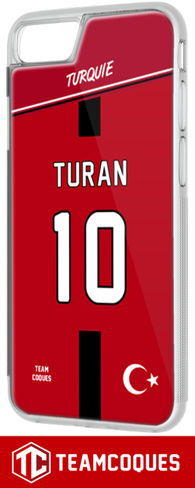 Coque foot TURQUIE - flocage 100% personnalisable - iPhone smartphone - TEAMCOQUES