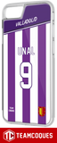 Coque foot VALLADOLID - flocage 100% personnalisable - iPhone smartphone - TEAMCOQUES