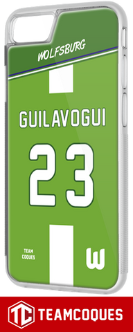 Coque foot WOLFSBURG - flocage 100% personnalisable - iPhone smartphone - TEAMCOQUES