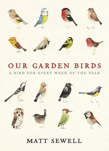 Our Garden Birds A Bird for Every Week of the Year  by Matt Sewell
