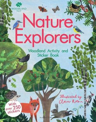 The Woodland Trust: Nature Explorers Woodland Activity and Sticker Book by Clover Robin