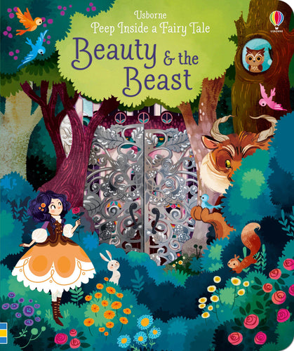 Peep Inside a Fairy Tale Beauty & The Beast - Peep Inside a Fairy Tale (Board book) by Anna Milbourne and Lorena Alvarez (illustrator)