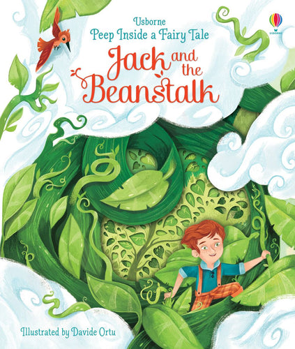 Jack and the Beanstalk - Inside a Fairy Tale Hardback original by Anna Milbourne