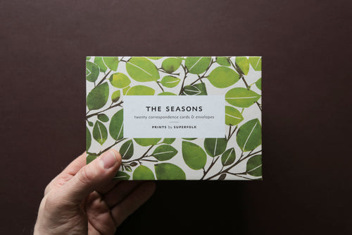 Superfolk: The Seasons Correspondence Cards