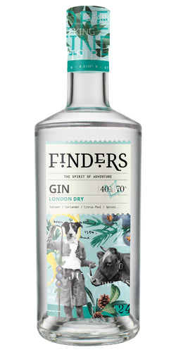 Finders Gin - London Dry 70cl