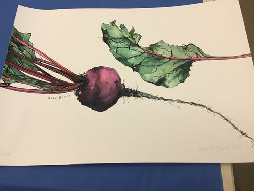 Rote Beete by Kate McGuire - Limited Edition