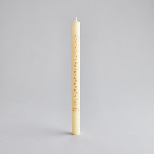 Advent Candle Ivory - St Eval