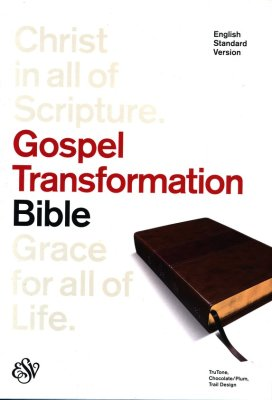 ESV Gospel Transformation Bible, 1st Edition (Chocolate/Plum with Trail Design)