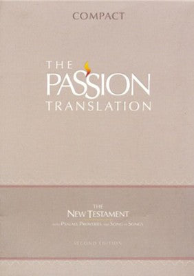 The Passion Translation (TPT): New Testament with Psalms, Proverbs, and Song of Songs - 2nd edition, compact, imitation leather, navy
