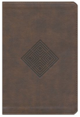NKJV Reader's Reference Bible, Brown Leathertouch