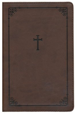 NIV Teen Study Bible Compact, Italian Duo-Tone, Chocolate