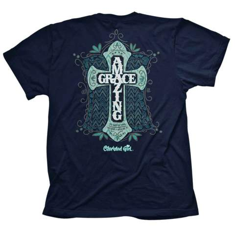 T-Shirt Cherished Girl Amazing Grace