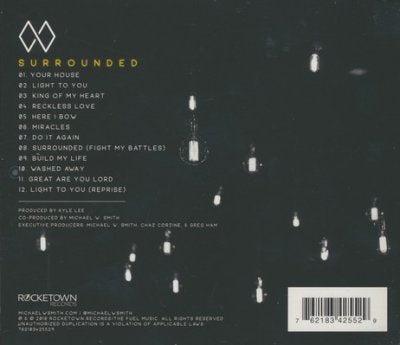 Surrounded (Live) -Michael W. Smith