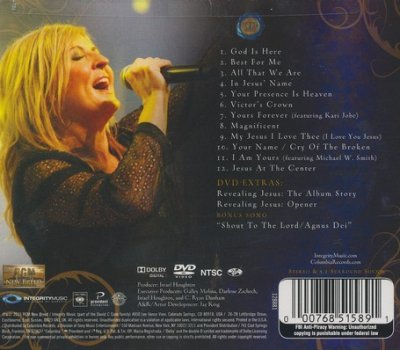 Revealing Jesus--CD and DVD Darlene Zscech