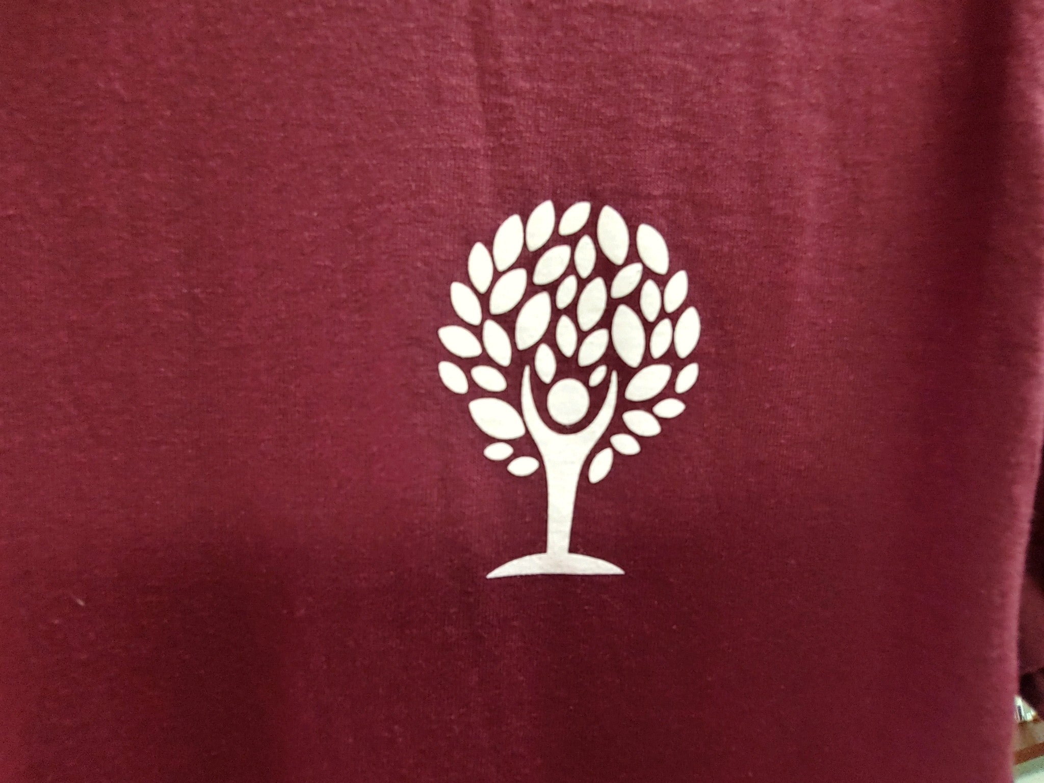 Empowered Life T-shirt - maroon