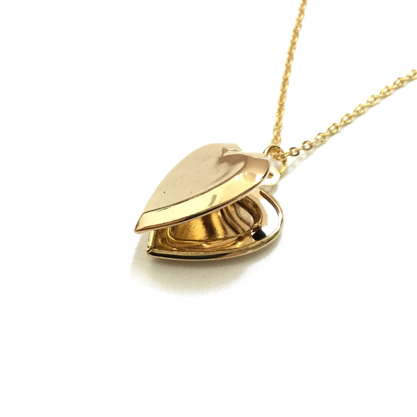 Gold plated Heart Locket