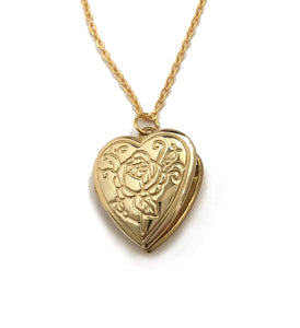 rose design locket