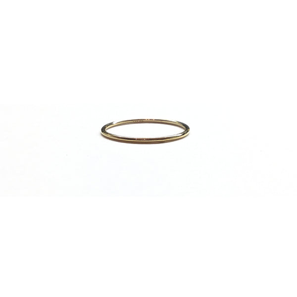 14k gold filled stacking ring band