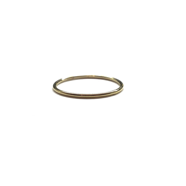 14k gold filled minimalist stacking ring