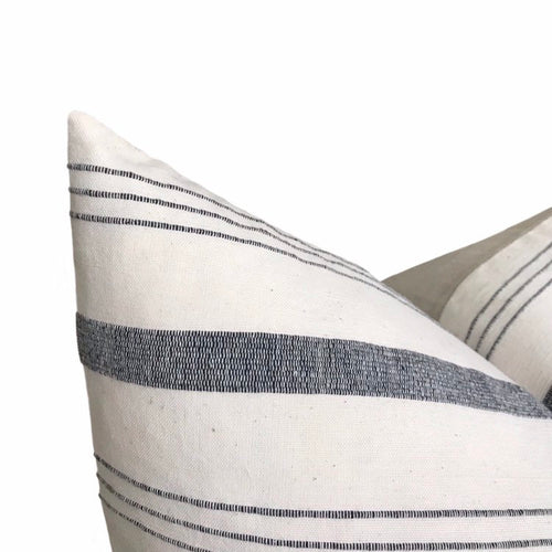 Kufri Lima Stripe Pillow in Natural