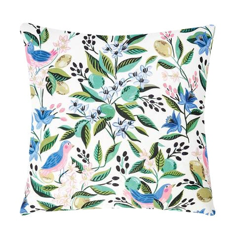 Caitlin Wilson Citron Vert Pillow Cover // Designer Throw Pillow