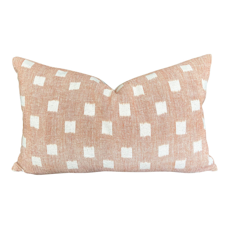 Kufri Rex LUMBAR Pillow Cover in Blush
