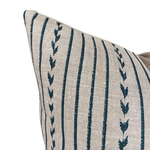 Clay McLaurin Yucatan Stripe in Indigo