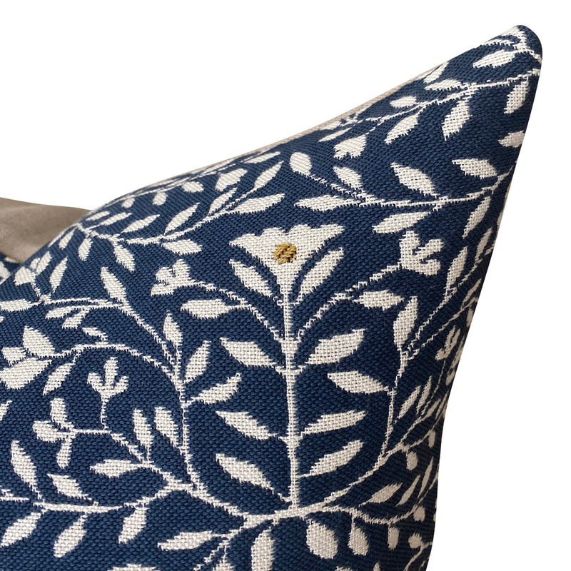 Clay McLaurin Cloister Pillow Cover in Indigo