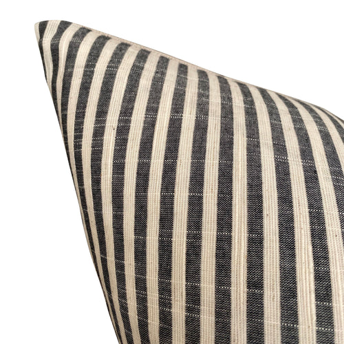 Chiangmai Native Cotton Black and White Stripe