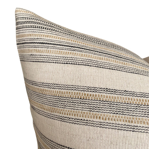 Clay McLaurin Caspian Pillow Cover in Sand