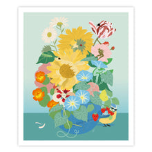 Charger l'image dans la galerie, le bouquet, illustration enfant, art print