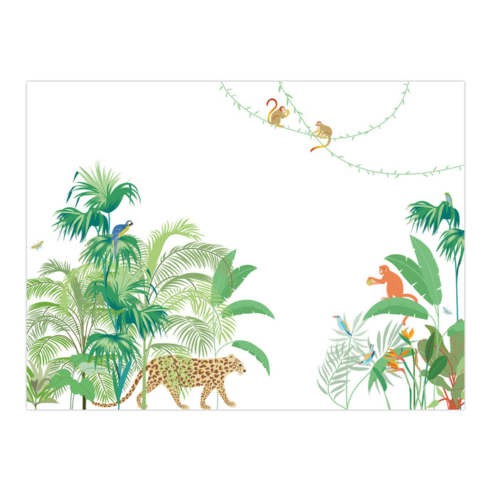 décor mural jungle