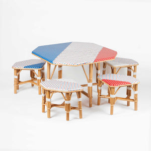 ensemble mobilier en rotin Paris