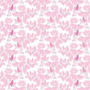 detail pattern songe rose