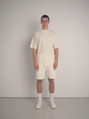 Ultra Cotton Heavy Weight Tee - Cream
