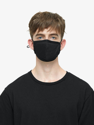 Profound: Triple-Layered Protective Face Mask (Black)
