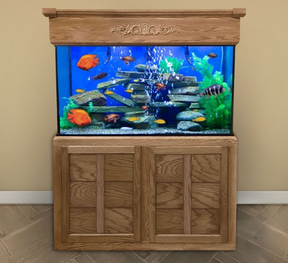 Custom LIFETIME 100 gal. Glass Aquarium Tank
