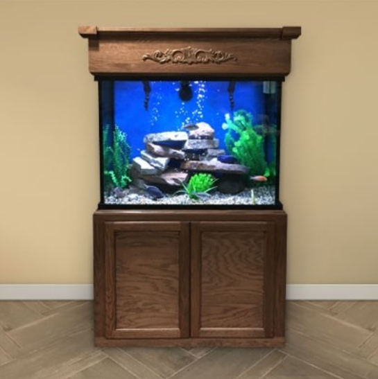 Custom LIFETIME 90 gal. Glass Aquarium Tank