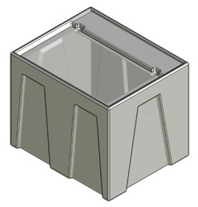 CustomAquariums Seamless Sump® Reservoir Tub