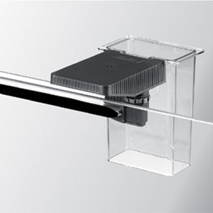 "Eheim ""Everyday Auto Fish Feeding Station"" for Easy Mounting of Everyday Fish Feeder, and Feeding Tube for Keeping Fish Food Centralized while Feeding, and Preventing Food from Going Down Overflow"