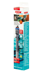 """Jager TruTemp"" Highly Reliable, Wide Temp Calibration Range, Dry Auto-Shutoff 25W Aquarium Heater (Temp Calibration = 65-93°F)"