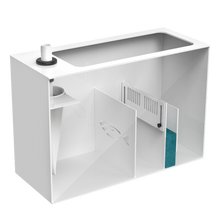 """EcoReef 100"" Budget-Friendly U.S. Extruded Acrylic Sump System (23½""L x 10""W x 16""H┃Limited Lifetime Warranty)"