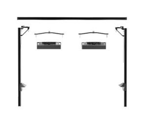"AquaIllumination 24"" Rail for Multi-Mount (for Hydra Series)"