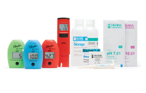 Hanna Instruments Reef Professional Kit V1 with pH Tester (Digitally Test for Calcium, Alkalinity, and Ultra Low Range Phophate)