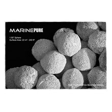 "1.5"" Sphere Extreme-Porosity Surface Area, Saltwater + Freshwater Compatible, Nitrate-Reducing Ceramic Bio Media (2 Quarts or 1 Gallon Media Amounts)"