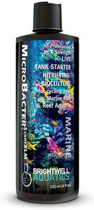 "Brightwell Aquatics ""MicroBacterStart XLM"" Live Tank Starter Nitrifying BioCulture for Newly Cycling Reef and Freshwater Tanks"